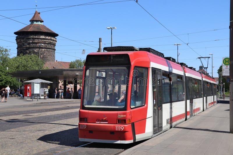 Transport de ville de Nuremberg image libre de droits