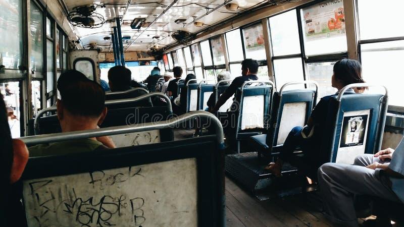 Transport en commun à Bangkok photographie stock libre de droits