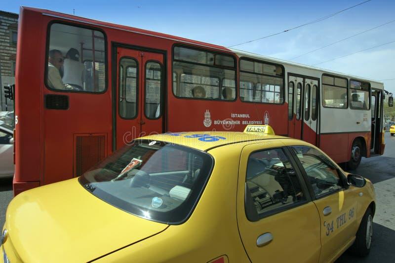 Transport en commun à Istanbul images libres de droits