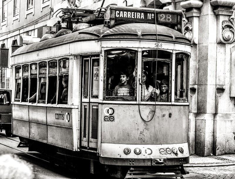 Transport en commun à Lisbonne image stock