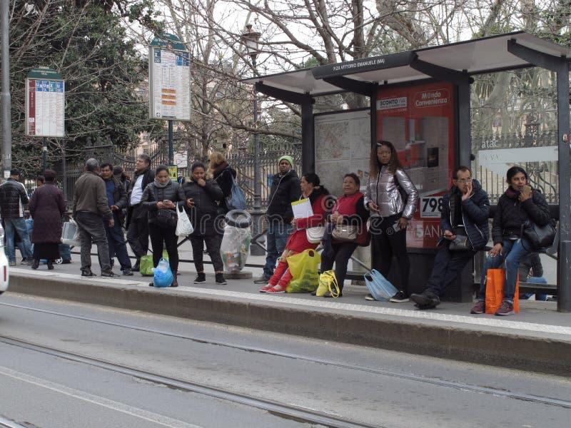 Transport en commun à Rome, Italie image stock