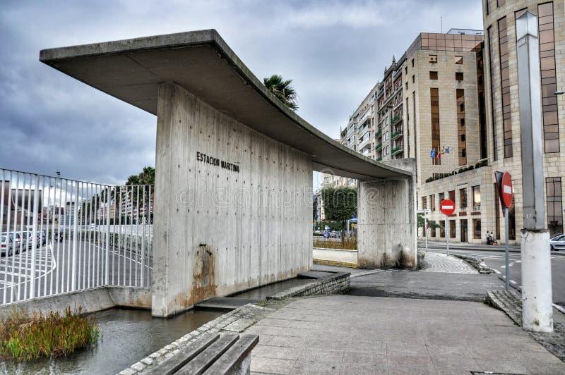Transport en commun à Santander, la Cantabrie Espagne photos libres de droits
