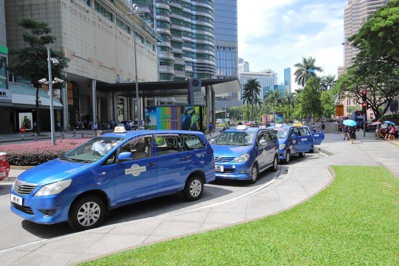 Transport en commun Kuala Lumpur Malaysia de taxi photo stock