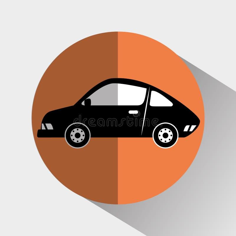 Transport, Fahrzeug und Lieferung stock abbildung