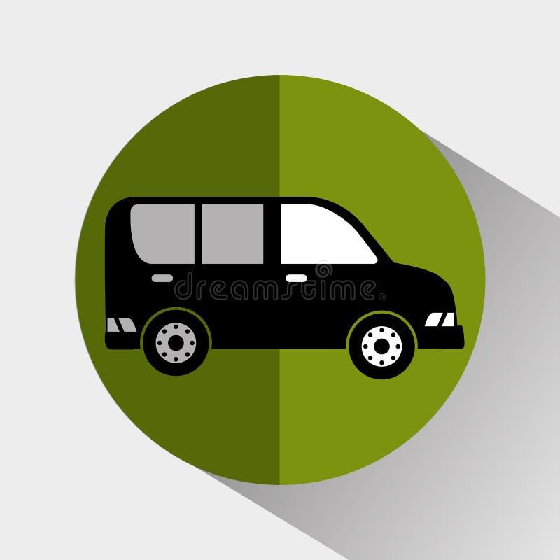Transport, Fahrzeug und Lieferung lizenzfreie abbildung