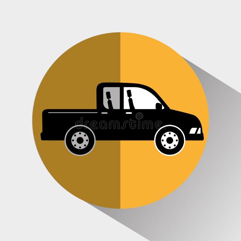 Transport, Fahrzeug und Lieferung vektor abbildung