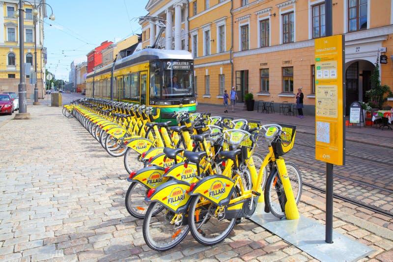 Transport in Helsinki stock photos