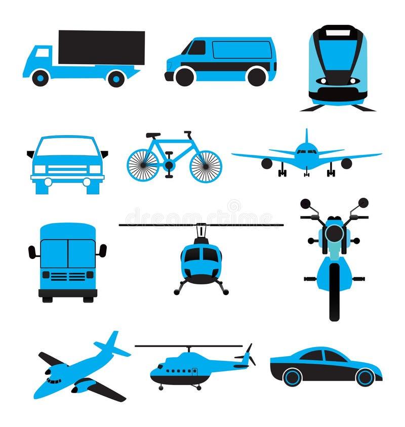 Transport Icon Set vector illustration