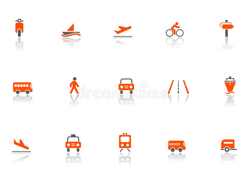 Download Transport icons stock vector. Illustration of shipments - 9395577