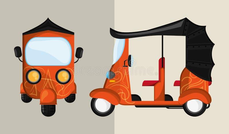 Transport ikona koncepcja retro samochodowa ilustracja, editable wektor ilustracja wektor