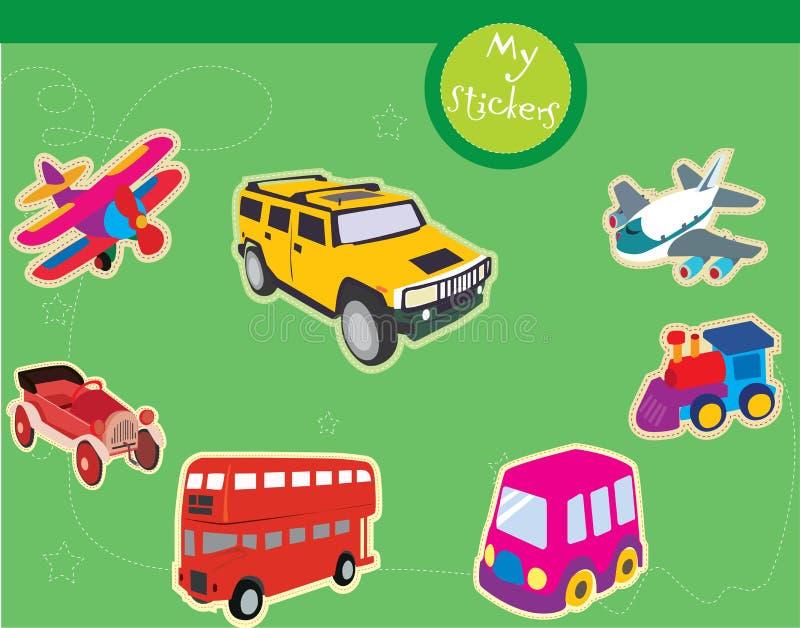 Transport illustrations royalty free stock image