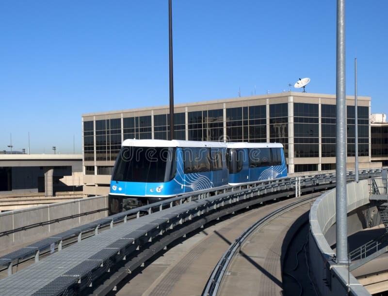 Transport léger de longeron ou de tramway image libre de droits