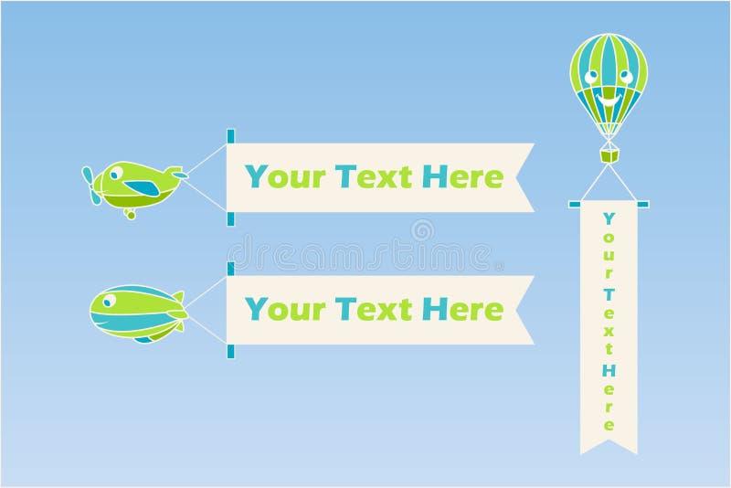 Download Transport powietrzny ilustracja wektor. Obraz złożonej z transport - 22345345