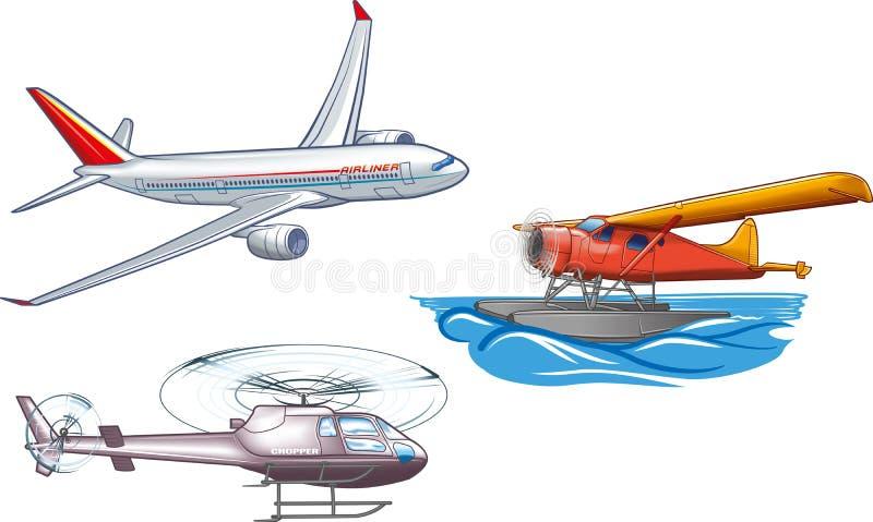 Transport powietrzny ilustracja wektor