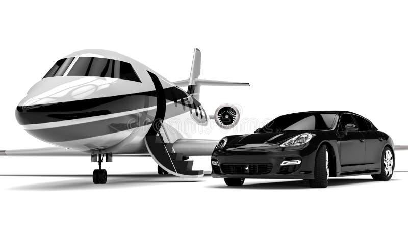 Transport privé illustration libre de droits