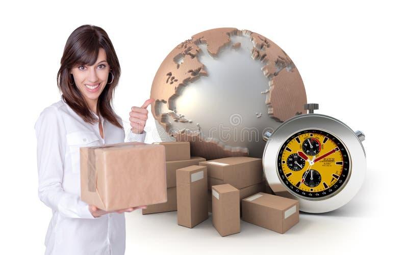 Transport rapide et fiable photos stock