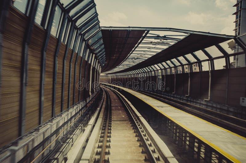 Transport-Stationsarchitektur der neuen Generation lizenzfreies stockfoto