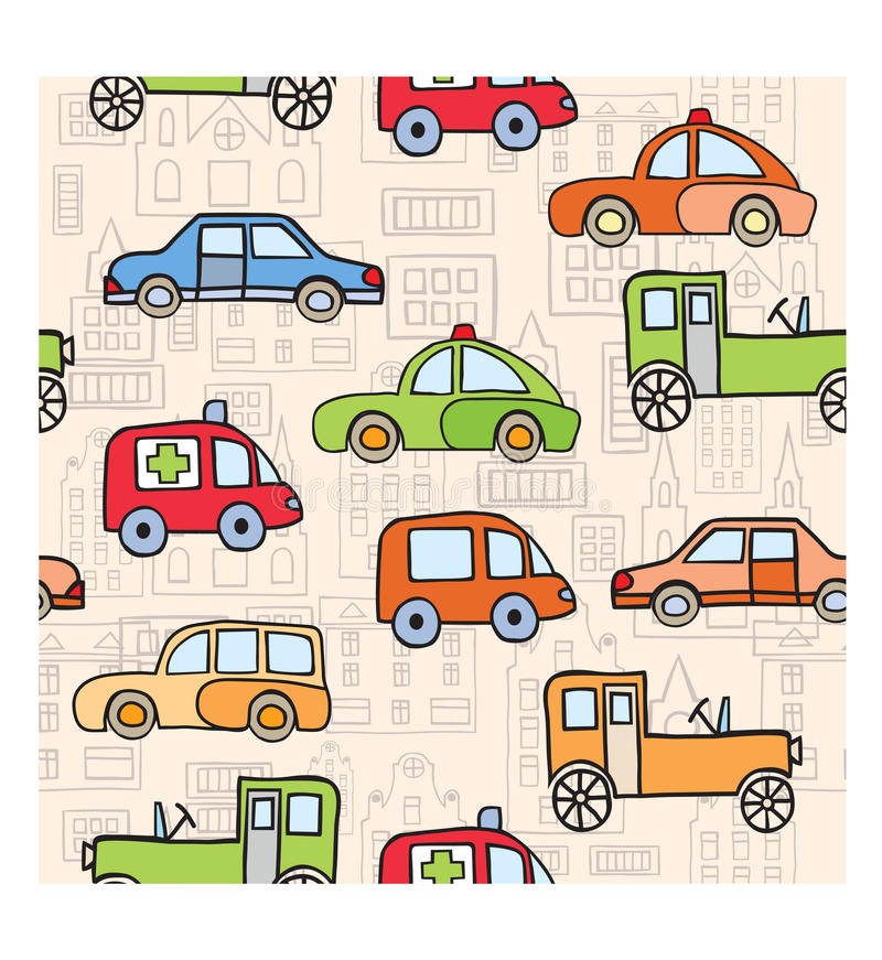 Download Transport In The Style Of Cartoon Stock Vector - Illustration of clip, sketch: 22216377
