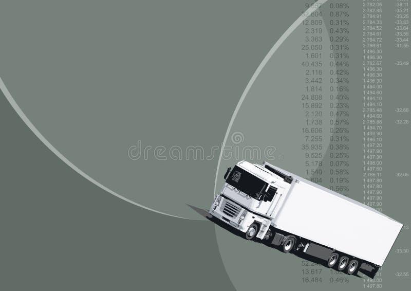 transport tło royalty ilustracja