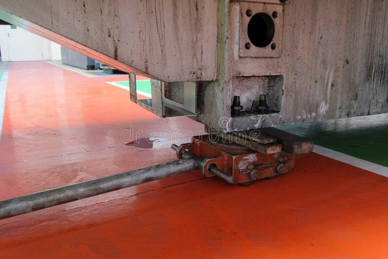 Transport trolleys stock photos