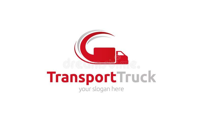 Transport Truck Logo vector illustration