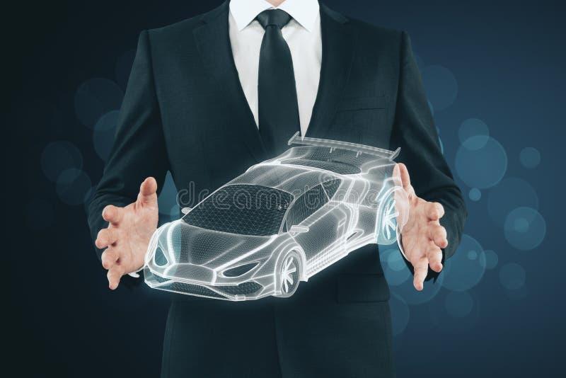 Transport, véhicule et concept d'ingénierie illustration de vecteur