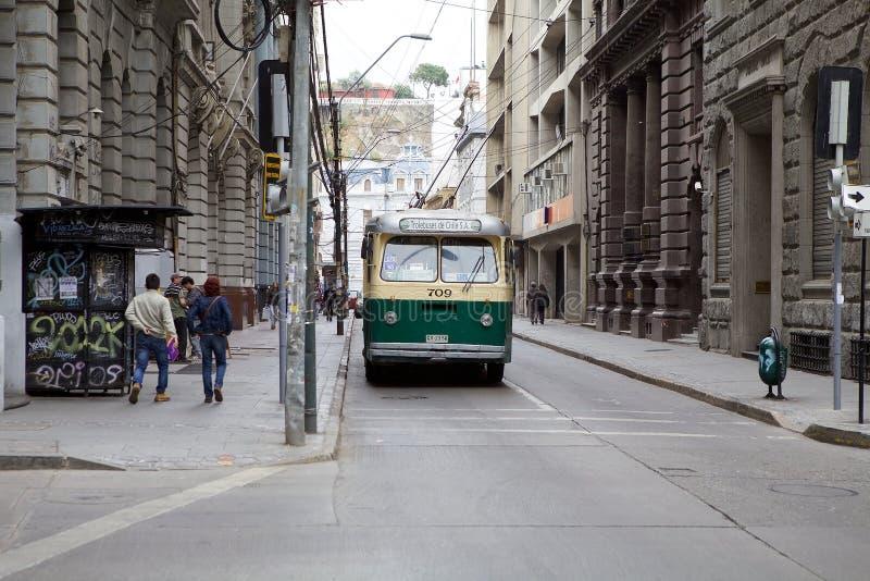 Download Transport In Valparaiso, Chile Redaktionelles Stockfoto - Bild von chile, kultur: 96930568