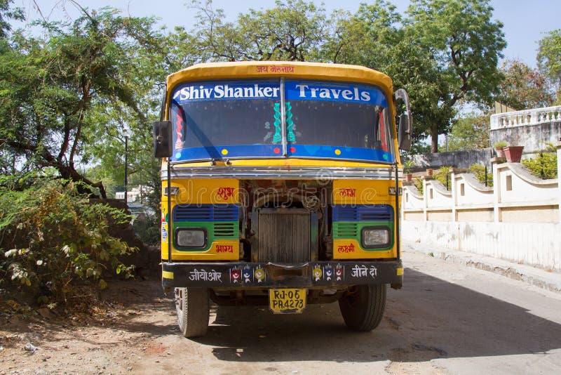 Transport von Asien in Rajasthan stockfotos
