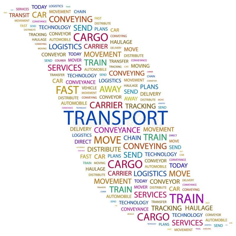 TRANSPORT. vector illustration