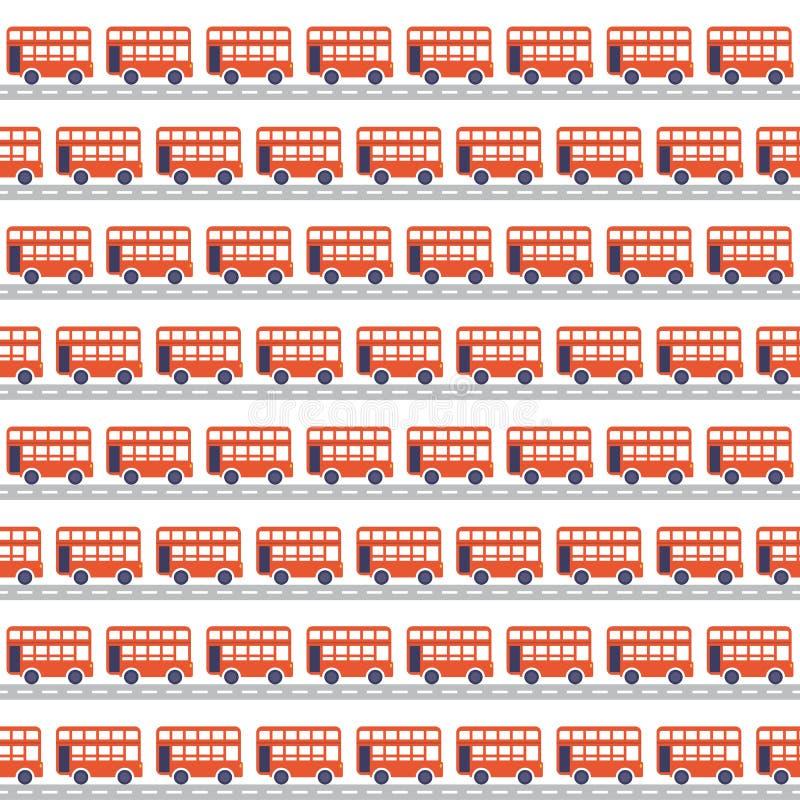 Transporta inconsútil stock de ilustración