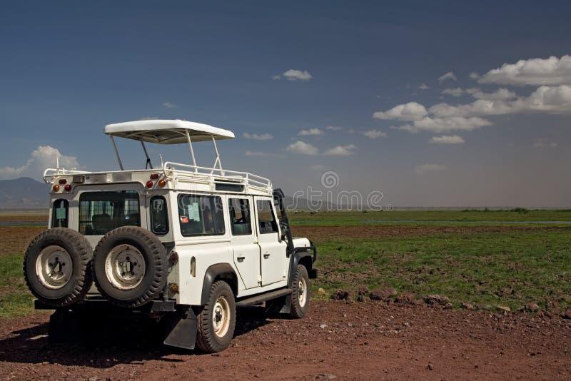 Transportation 004 safari vehicle royalty free stock photography