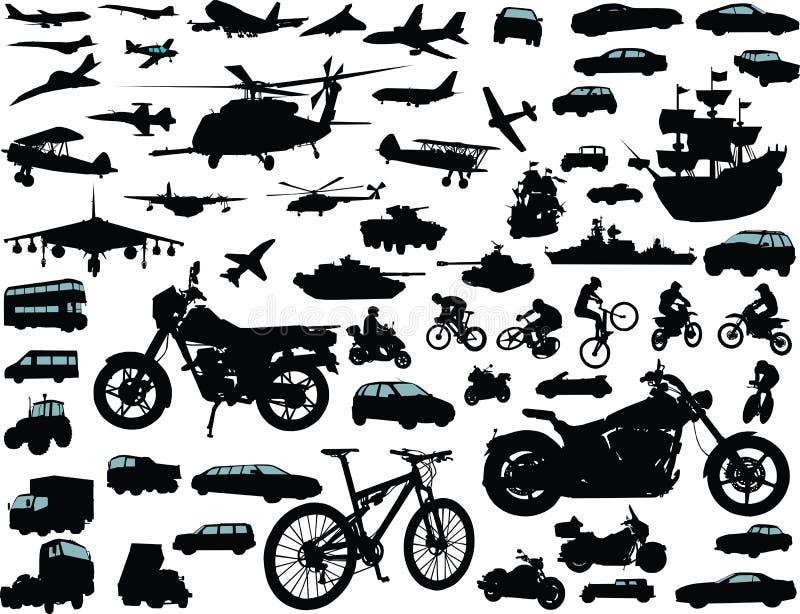 Transportation royalty free illustration