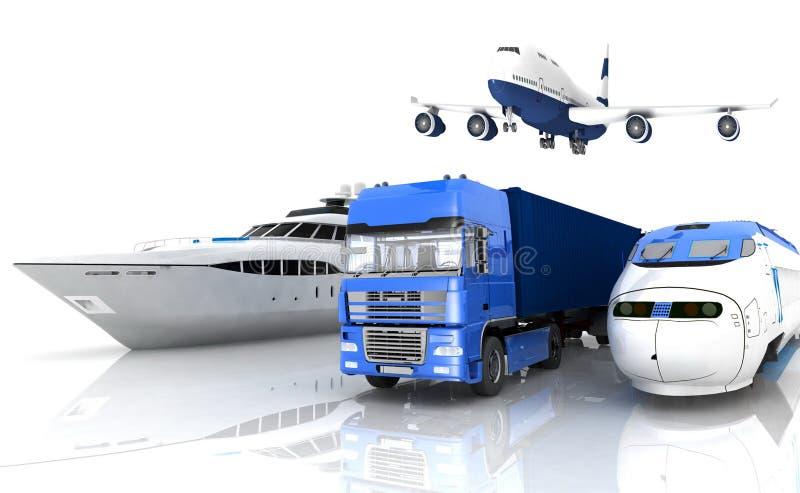 Transportation stock illustration