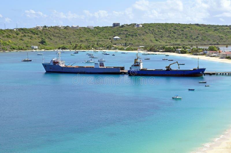 Transportation: cargo ships. stock photos