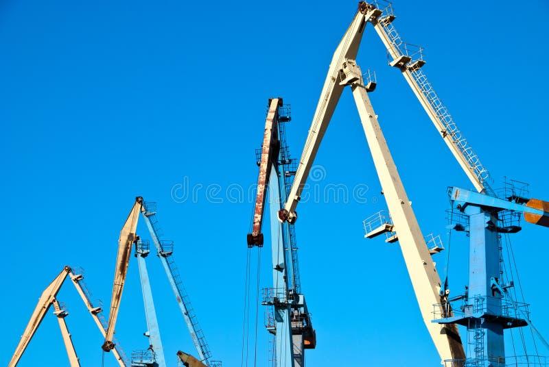 Transportation Cranes Royalty Free Stock Photo