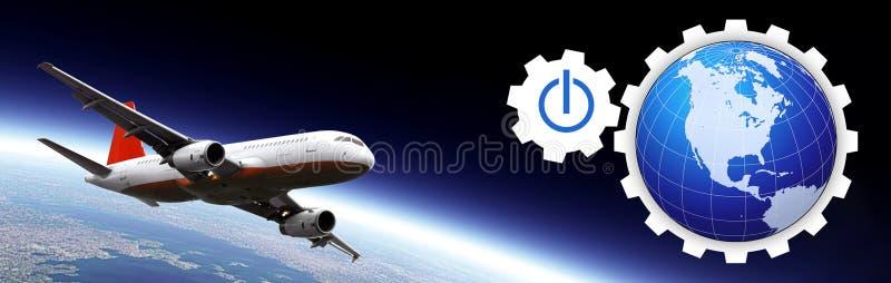 Download Transportation header stock illustration. Image of tourism - 2355771