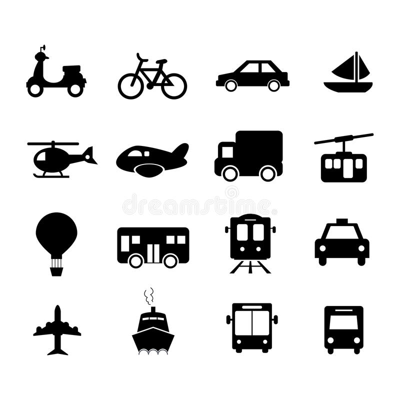 Download Transportation Icon Royalty Free Stock Photos - Image: 33220858
