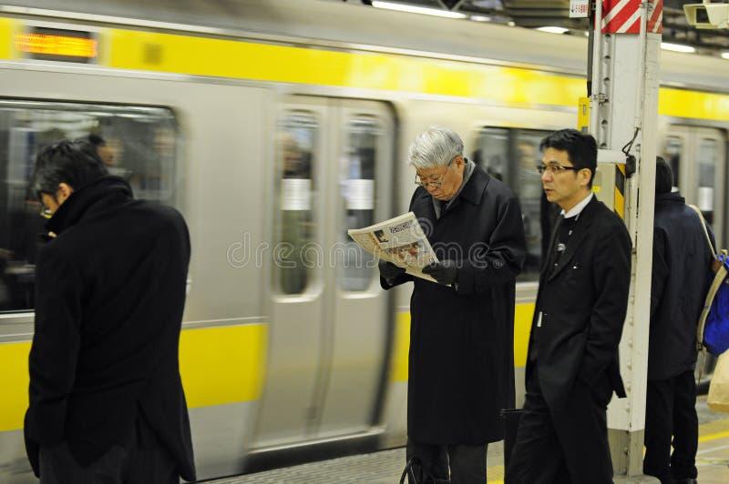 Transportation in Tokyo royalty free stock photos