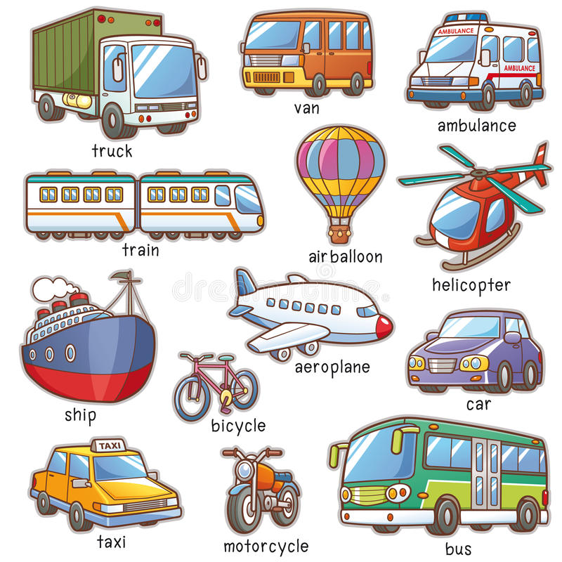 Transportation vector illustration