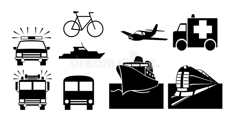 Transportations royalty free stock photos