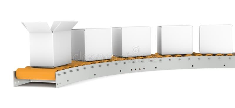 Transportband royalty-vrije illustratie