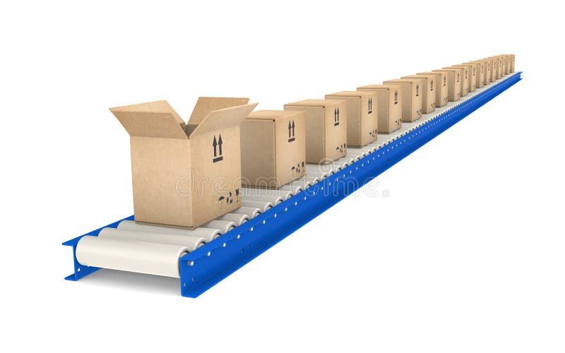 Transportband stock foto