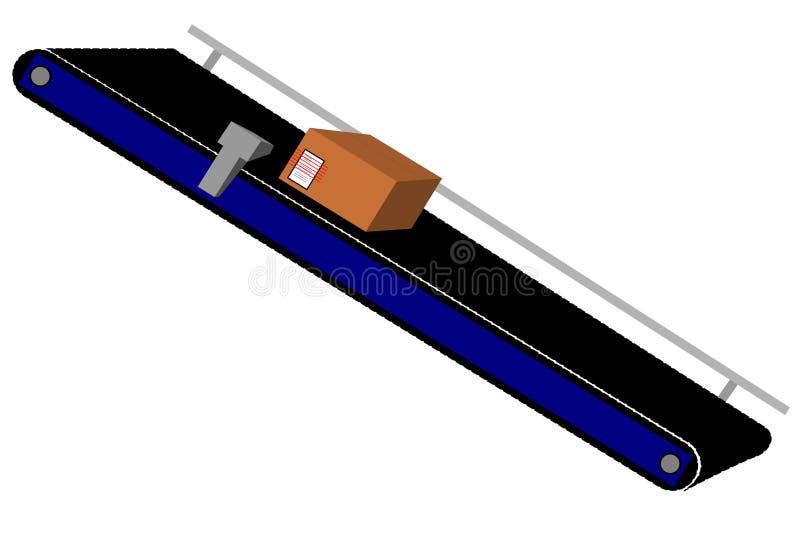 Transportband stock illustratie
