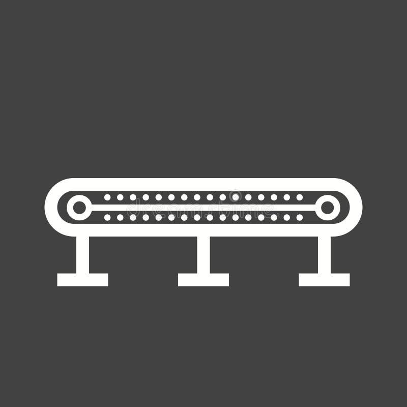 Transportband I vector illustratie