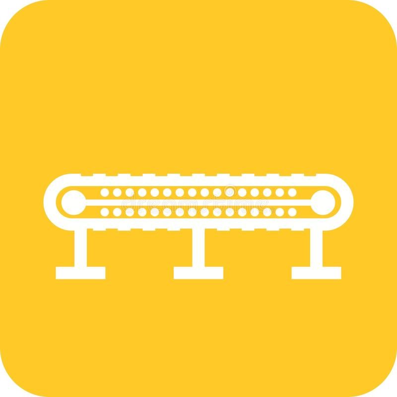 Transportband I royalty-vrije illustratie