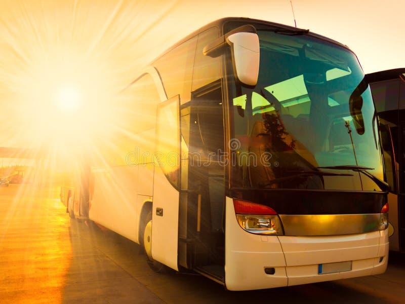 Transportbus lizenzfreies stockfoto