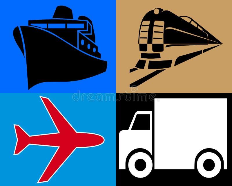 Download Transporte ilustración del vector. Ilustración de aire - 41906712