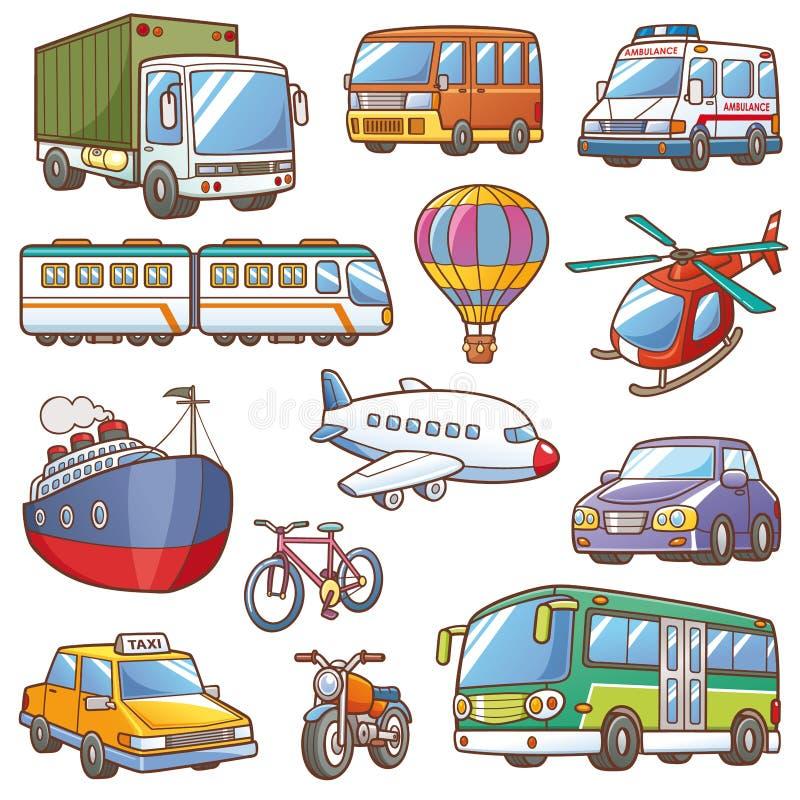 transporte ilustração do vetor