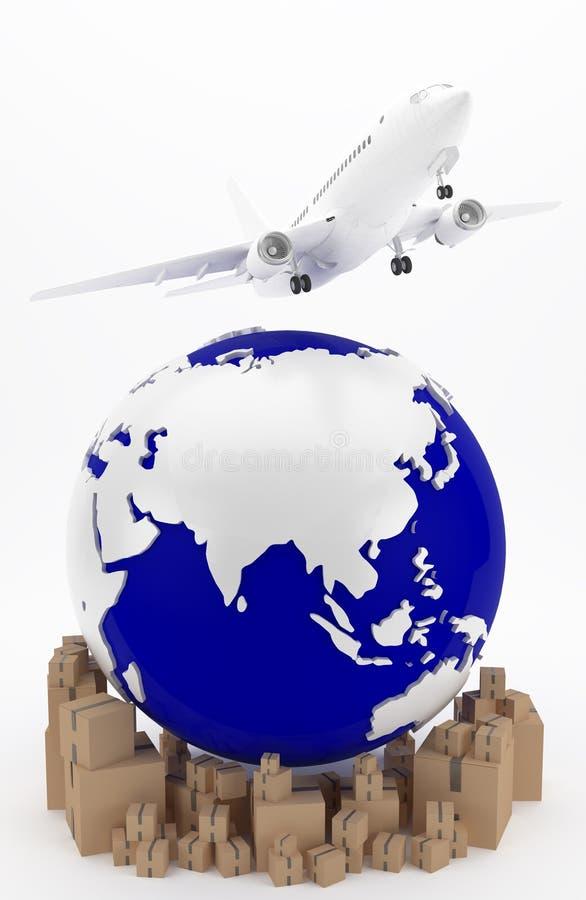 Transporte aéreo em Ásia fotografia de stock royalty free