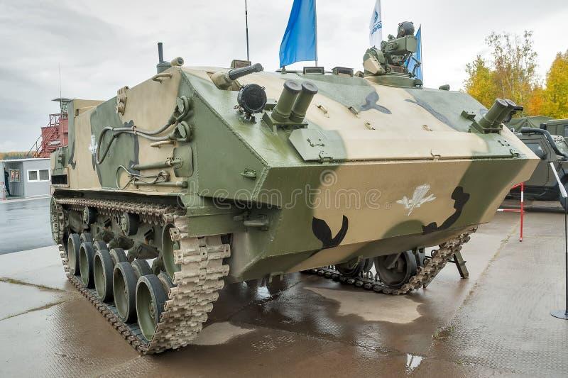 Transporte blindado de tropas aerotransportado BTR-MDM imágenes de archivo libres de regalías